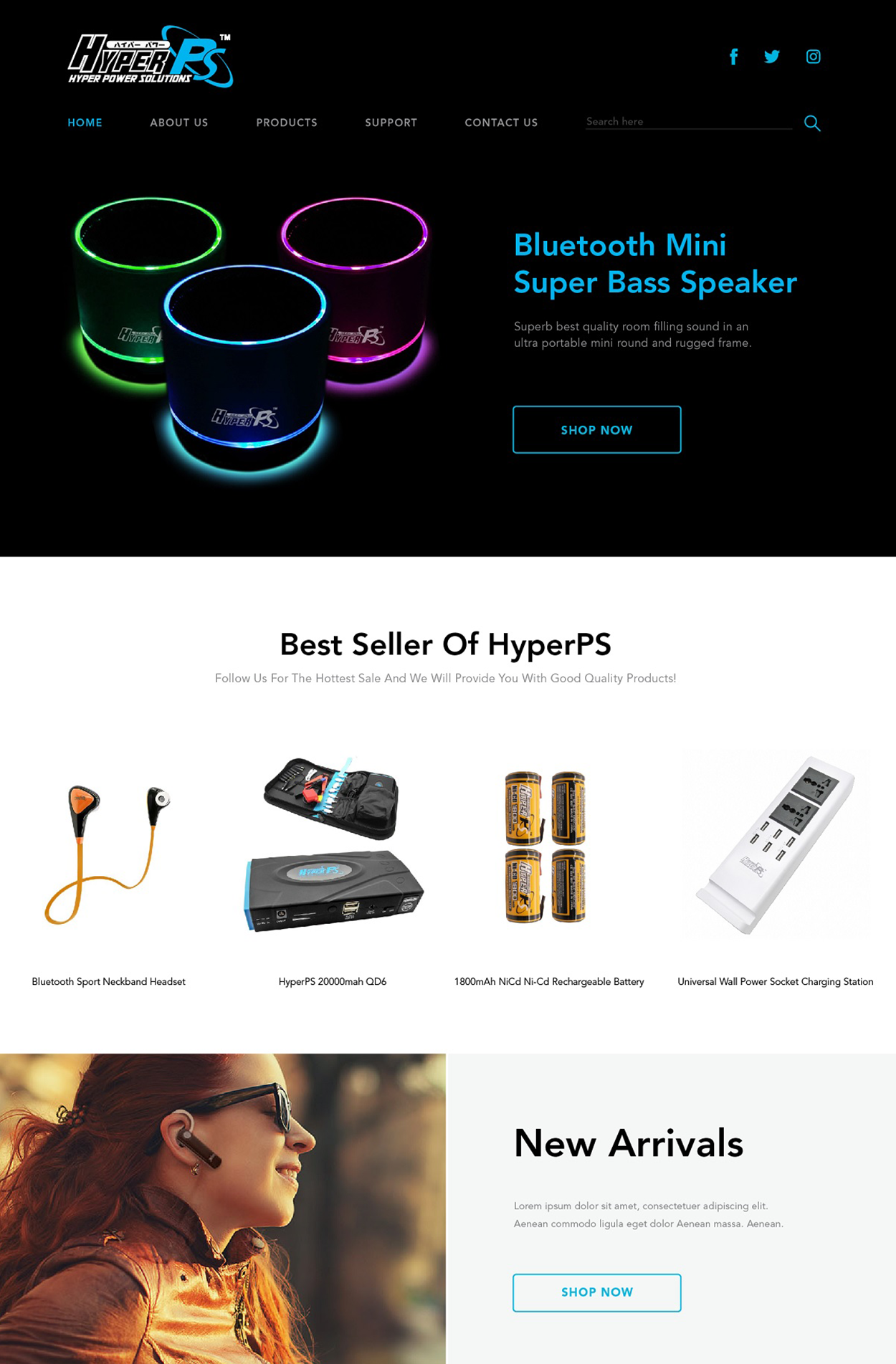 HyperPS Home